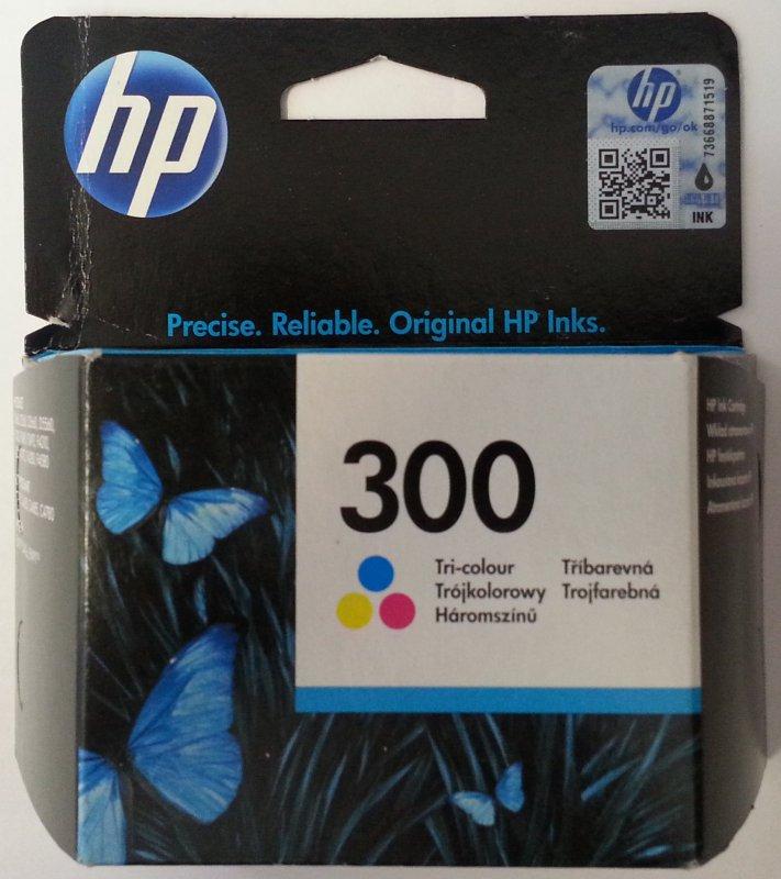 originale Patrone HP 300 Color