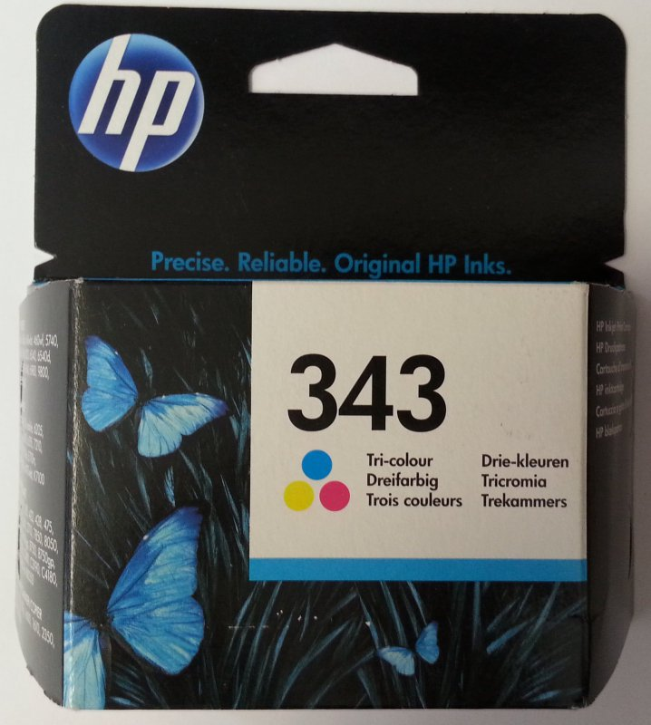 originale Patrone HP 343 Color