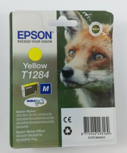 originale Patrone Epson T1284 / yellow