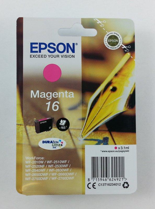 originale Patrone Epson 16 / magenta