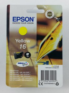 originale Patrone Epson 16 / yellow / 3,1ml