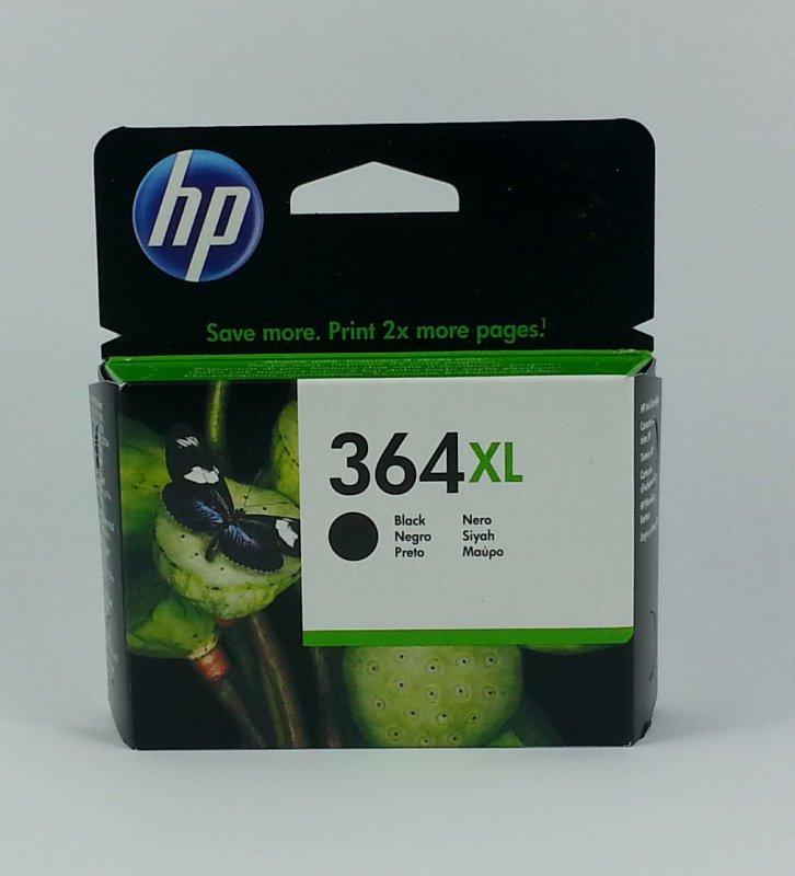 originale Patrone HP 364XL BK / schwarz